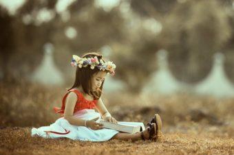 Autor jak dziecko