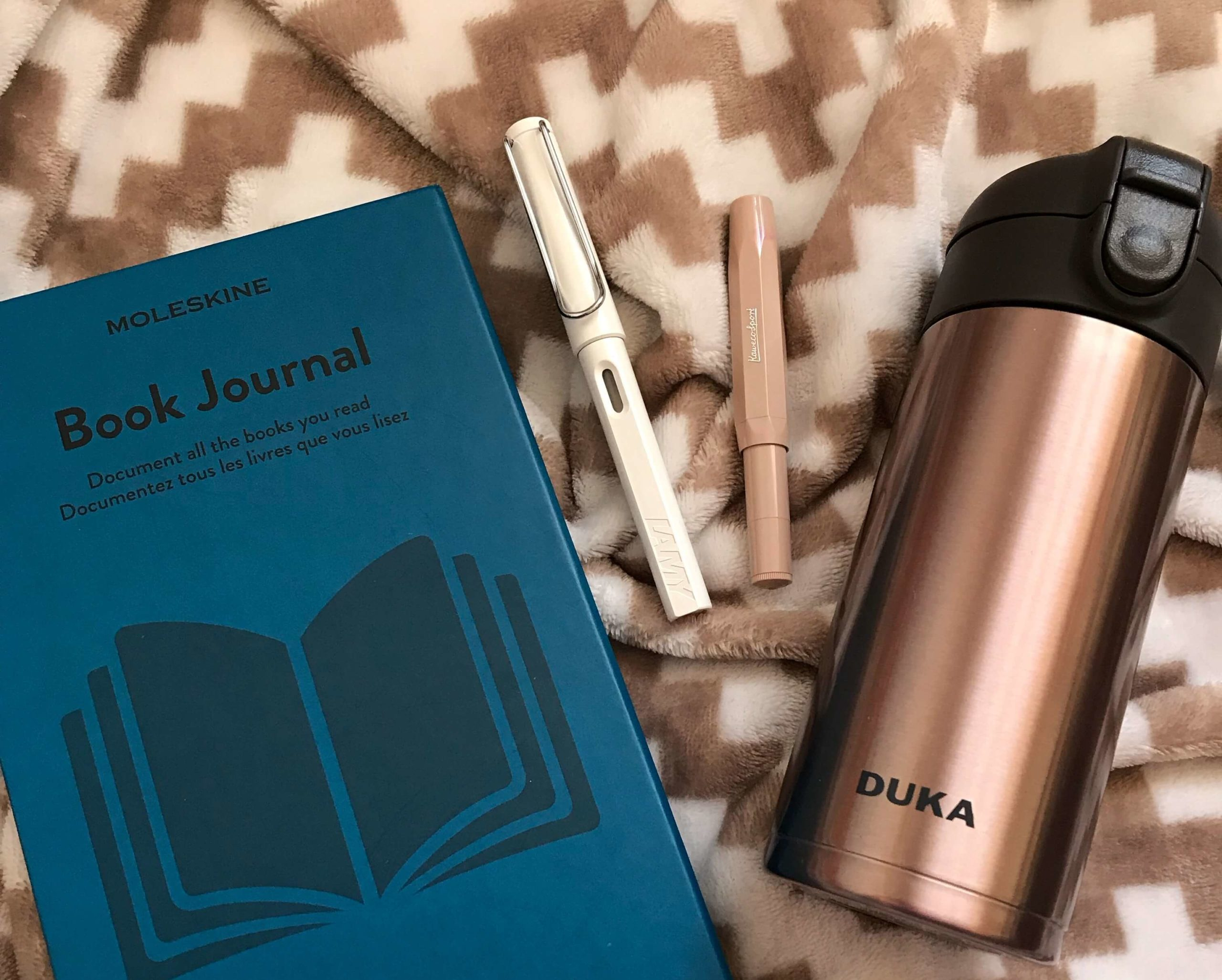 book journal moleskine duka vacuum kubek