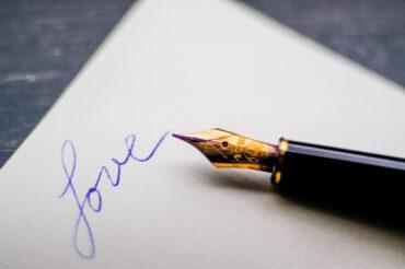 Czy Twoje pisanie oparte jest na miłości?